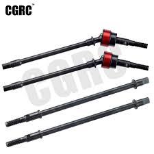 <b>2pcs Hard Steel Front</b>/Rear Axle CVD Drive Shaft Dogbone For 1/10 ...
