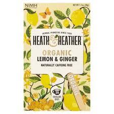<b>Heath</b> & <b>Heather</b> Organic Lemon & Ginger | Ocado