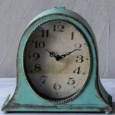 clock decor rbvaglzjkaepxgaajochrtiky  love this aqua table clock metal table top clock table clocks table