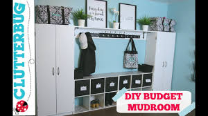 Create more storage in your <b>home</b> on a budget - <b>DIY Mudroom</b> ...