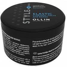 <b>Стайлинг</b>-<b>паста</b> средней фиксации Ollin <b>Style</b> Elastic Paste 65 гр