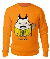Свитшот унисекс хлопковый <b>Фредди Меркьюри</b>-кот #2602052 от ...