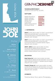 graphic designers single page resume template preview graphic    graphic designers single page resume template preview  graphic designer   resume