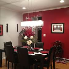 room paint red: like the lighting fixture with the red dining room maybe reconsider color change