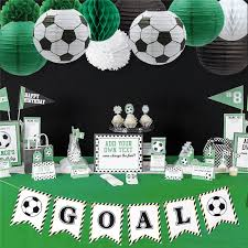 Nicro 17Pcs/<b>Set</b> Soccer Goal <b>Party Decoration Birthday Football</b> DIY ...