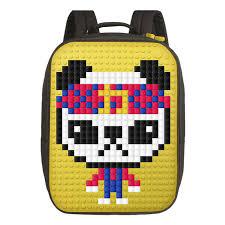 ≡ Пиксельный <b>рюкзак Upixel Canvas Classic</b> Pixel Backpack WY ...