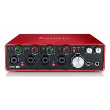 <b>Аудиоинтерфейс FOCUSRITE Scarlett 18i8</b> 2nd Gen USB ...
