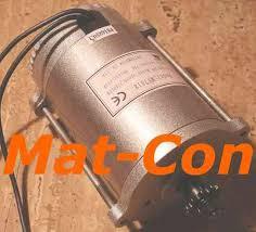 Mat-Con <b>DC</b> electric motors gearbox motors controllers regulators