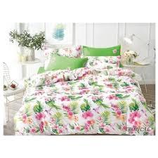 «<b>Комплект постельного белья</b> Jardin 3620_TROPICAL, <b>белый</b> ...