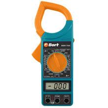 Мультитестер <b>Bort BMM</b>-<b>750C</b> (<b>токовые клещи</b>, измерение ...