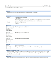 resume template builder objective sample in glamorous ms 89 glamorous ms word resume templates template