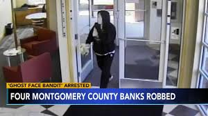 Serial bank robber dubbed '<b>Ghost Face</b> Bandit' arrested in ...