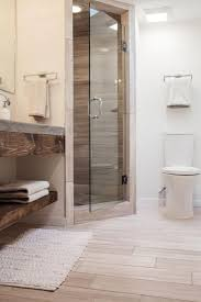 bathroom ideas corner shower design: fixer uppers best bathroom flips hgtvs fixer upper with chip and joanna gaines hgtv wood tile in bathroomcorner shower ideas