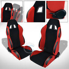 br sport style blkred suede pvc reclinable racing bucket seatssliders lr c33 fits bmw z3 bmw z3 office chair seat