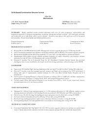 skill based resume template getessay biz 10 images of skill based resume template