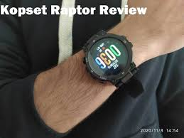 <b>Kospet Raptor</b> Smartwatch Review: After 7 Days of Usage - Chinese ...