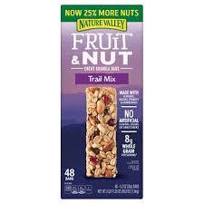 Nature Valley <b>Fruit & Nut</b> Chewy Granola <b>Bar</b>, Trail Mix, 1.2 oz, 48 ...