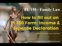 <b>FL</b>-<b>150</b> Income and Expense Declaration (California) - YouTube