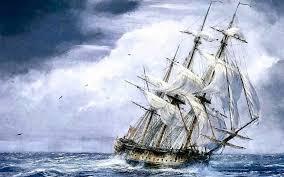 Hasil gambar untuk kapal diterpa ombak