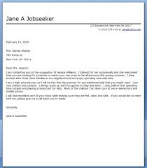 cover letter for a babysitting  seangarrette cocover