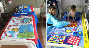 Dad Turns Board <b>Games</b> into <b>Bed Sheets</b> So Sick Kids Lying in ...