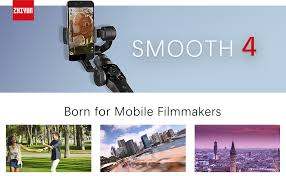 Zhiyun Smooth 4 [Official] Handheld Smartphone ... - Amazon.com