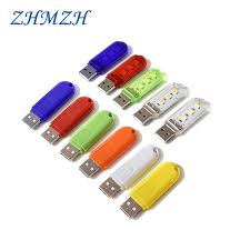 <b>Touch</b> Switch <b>DC5V</b> USB LED Mini Book Light 1.5W LED Desk ...