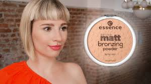 <b>Essence Sun Club</b> Matt Bronzing <b>Powder</b> Review + Demonstration ...