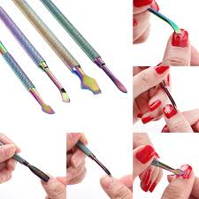 <b>1Pc</b> BORN PRETTY Dual-ended <b>Cuticle Pusher Remover</b> Colorful ...
