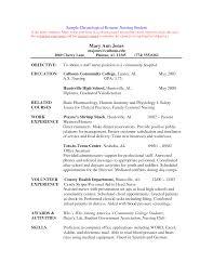 nursing school resume template | Template nursing school resume template