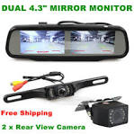 Rear view camera for car parking system