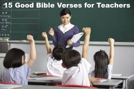 15 Good Bible Verses For Teachers via Relatably.com