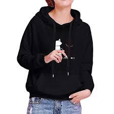 TITAP S-2XL <b>Women Hoodies Sweatshirt</b> Cute Tops Autumn Winter ...