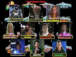 Power Rangers: Top 10 Rangers MEME filled out by thomasedsfan on ... via Relatably.com