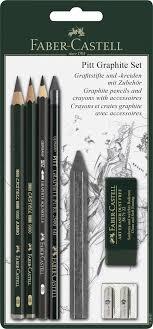 <b>Faber</b>-<b>Castell</b> Набор <b>графитовых карандашей</b> и мелков Pitt ...