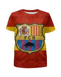 """Детские футболки c авторскими принтами """"<b>барселона</b>"""" - купить в ..."""