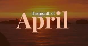 「april」の画像検索結果