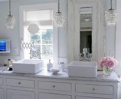 small bathroom chandelier crystal ideas: pictures of pleasing small bathroom chandelier crystal for home interior design ideas