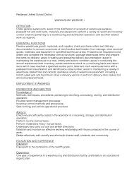 doc 596842 resume warehouse warehouse worker resume sample sample resume warehouse worker warehouse resume sample objective resume warehouse