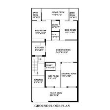 feet by feet   x   House Plan   DecorChamp sq yard house map