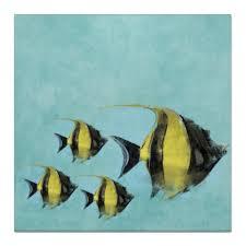 """Холст 50x50 """"Рыбки"""" #2311634 от anomalica - <b>Printio</b>"""