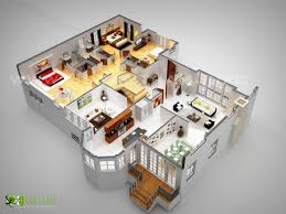 3d laxurious residential floor plan awesome 3d floor plans