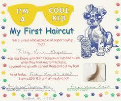 first haircut certificate my cakepins com stuff first haircut certificate template first haircut certificate