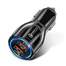 Thboxes <b>18W 3.1A Car Charger</b> Fast Charger 3.0 Universal Dual ...