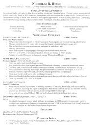s sample resume summary of qualifications professional  s sample resume summary of qualifications professional experience
