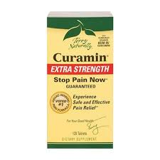 Terry Naturally <b>Curamin Extra Strength Pain</b> Relief 120 Tablets