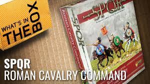 Unboxing: <b>SPQR</b> Caesar's <b>Legions</b> – Roman Cavalry Command ...