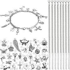 stainless steel bracelet charms - Amazon.com