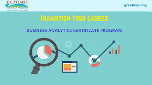 great learning business analytics certificate program build a great learning business analytics certificate program build a career in analytics