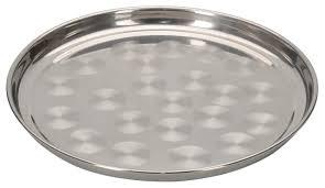 <b>Поднос</b> круглый из нержавеющей стали <b>50 см</b> — купить <b>в</b> ...